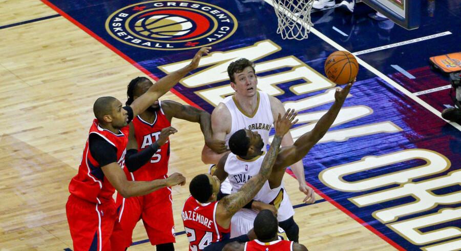 Atlanta Hawks tabte i nat til New Orleans Pelicans.