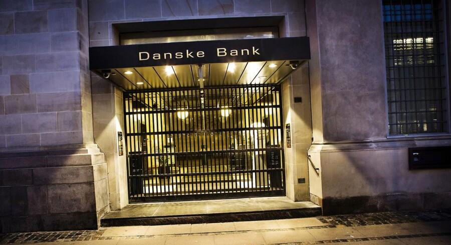 Danske Bank fotograferet i 2013. (Foto: Thomas Lekfeldt/Scanpix 2017)
