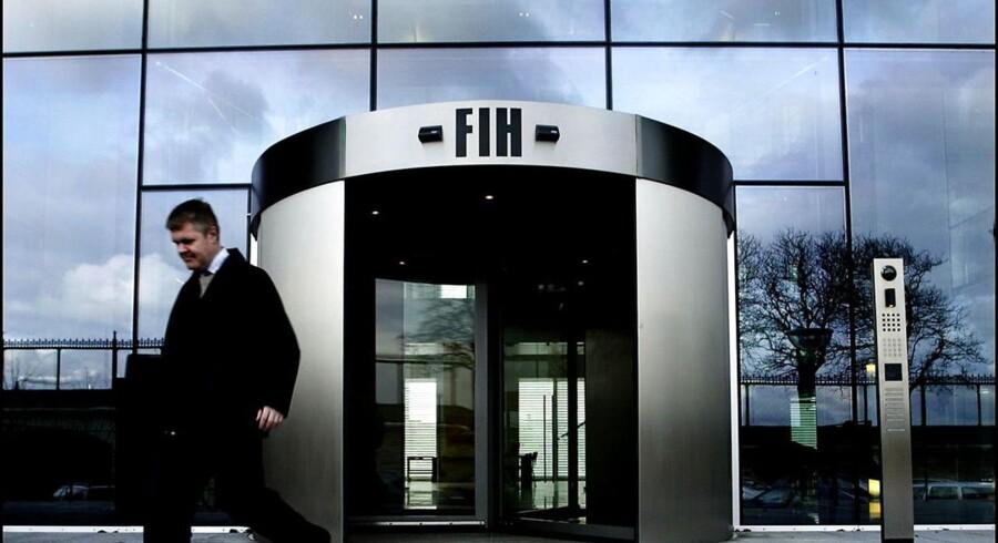Arkivfoto. Den danske erhvervsbank FIH forsøgte i 2012 at score en tocifret milliongevinst, da Folketinget trådte til med en omfattende hjælpepakke til den kriseramte bank.