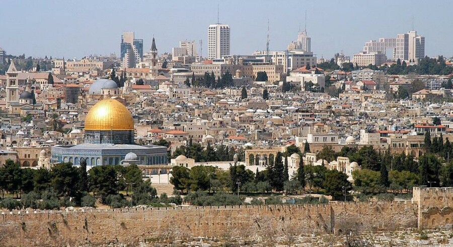 Israelere og palæstinensere fortsætter deres gamle strid. Et af de største problemer er skæbnen for den hellige by Jerusalem. Free/Wikimedia Commons/wayne Mclean