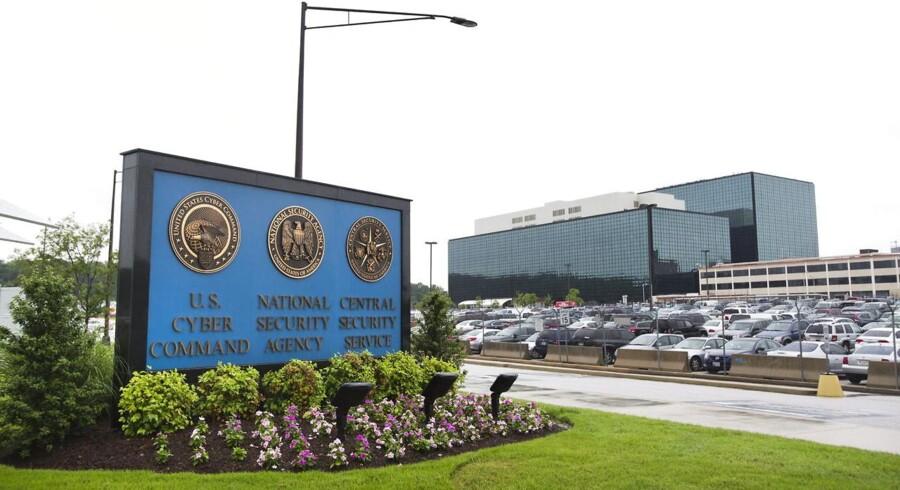 Den amerikanske telegigant Verizons tætte samarbejde med efterretningstjenesten NSA - her hovedkontoret i Fort Meade i staten Maryland - koster nu selskabet en stor kontrakt i Europa, bekræfter det tyske indenrigsministerium. Arkivfoto: Jim Lo Scalzo, EPA/Scanpix