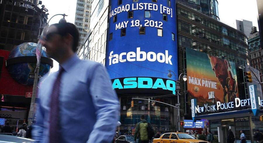Det sociale medie Facebook vil sandsynligvis stjæle fokus, når handlen skydes i gang torsdag. Onsdag efter børslukningen offentliggjorde selskabet nemlig et regnskab, der viste solid fremgang i andet kvartal. Arkivfoto.