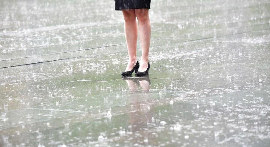 Regn i Berlin, 29. juni 2017.