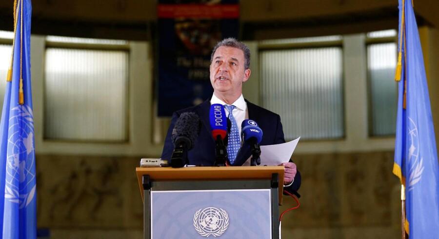 Serge Brammertz, chefanklager for ICTY.