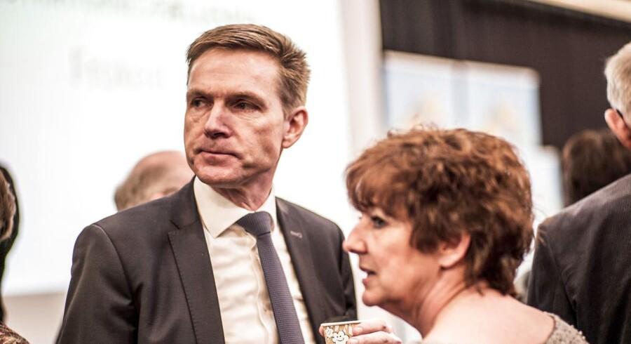 Kristian Thulesen Dahl (DF) under Landdistrikternes Fællesråds årsmøde i Vejle fredag d. 16. marts 2018. (Foto: Michael Drost-Hansen/Scanpix 2018)