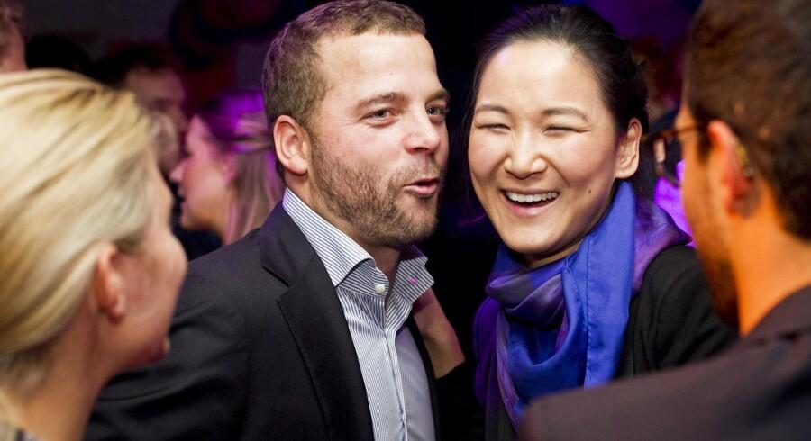 Den radikale leder, Morten Østergaard, forsøgte forgæves at redde partiets nu forhenværende beskæftigelses- og integrationsborgmester, Anna Mee Allerslev.