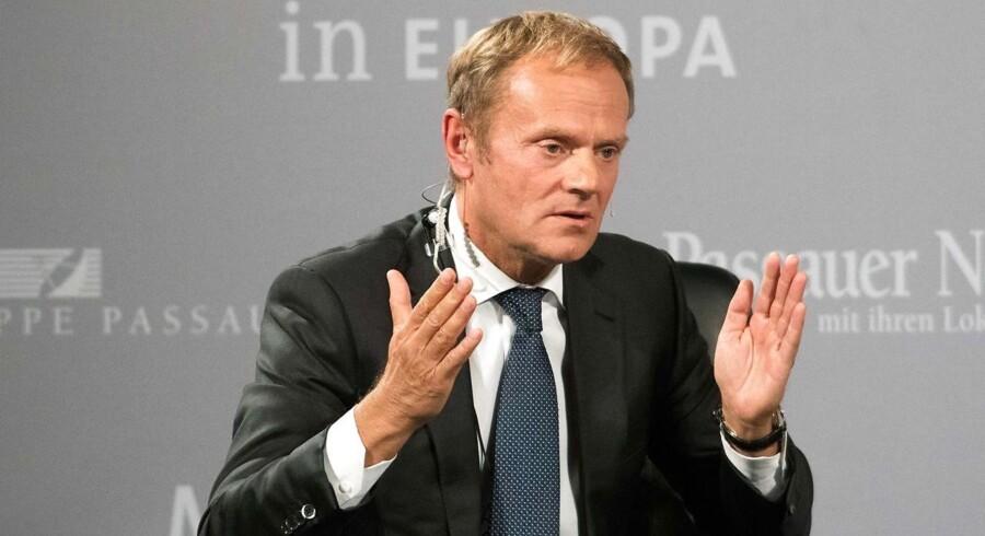 Tusk erkender, at den britiske folkeafstemning i juni nok gør det meget lidt sandsynligt, at Storbritannien vil forblive en del af EU.