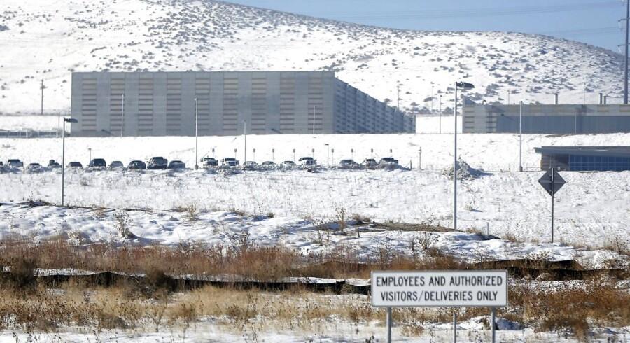Nu bliver der sat frister på, hvor længe efterretningstjenesten NSA (National Security Agency) må gemme de massive mængder af aflytninger, som bl.a. samles her i et datacenter i Bluffdale syd for Salt Lake City i Utah i det vestlige USA. Udenlandske, heriblandt danske, data vil dog stadig kunne ligge i fem år, før de skal slettes - også selv om de ikke er indsamlet i forbindelse med en konkret efterforskning. Arkivfoto: Jim Urquhart, Reuters/Scanpix