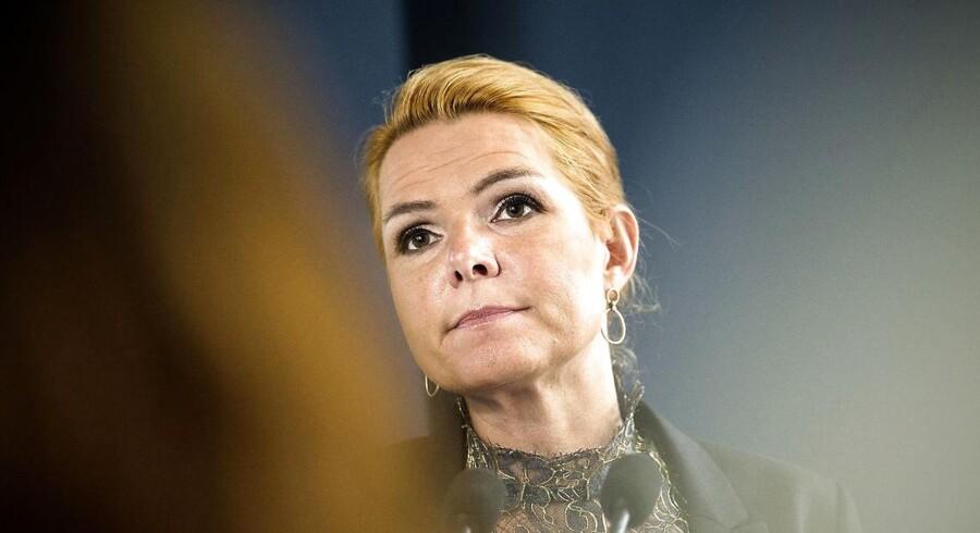 V-regeringen og udlændinge- og integrationsminister Inger Støjberg arbejder på en ghetto-pakke.