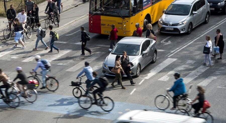 Et af de vigtigste fokusområder for Københavns Kommunes klimaindsats er trafikken.