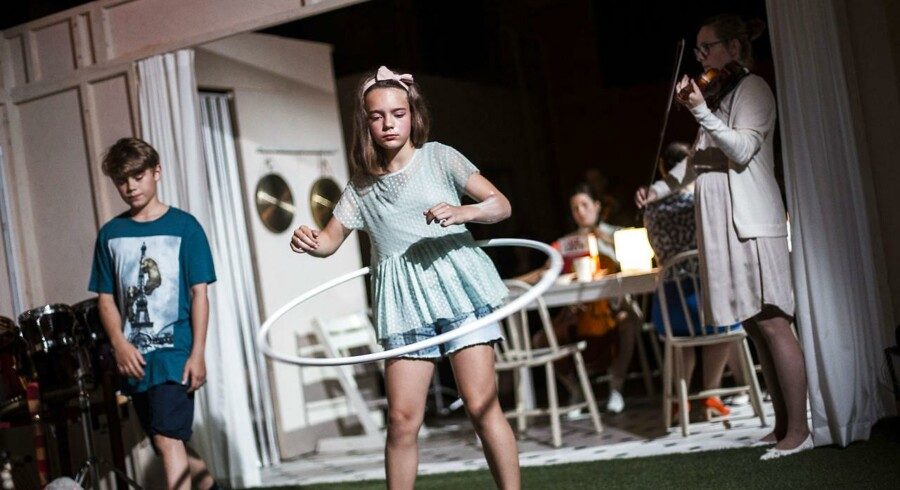 Forestillingen Silent Zone af Louise Alenius på Understationen på østerbro. CPH Operafestival 2017