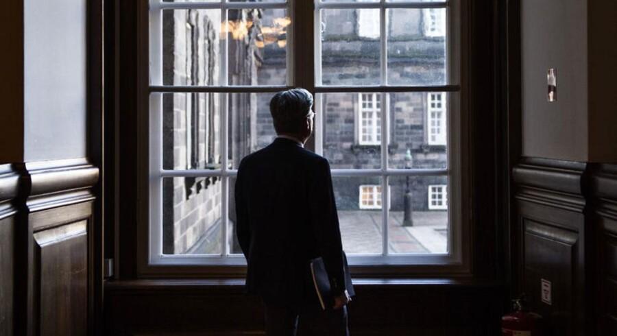 Justitsminister Søren Pind (V) var 17. marts indkaldt i åbent samråd om sessionslogning og overvågning på nettet men valgte lige inden at droppe det omstridte forslag. Han har imidlertid ikke opgivet at finde en ny løsning på, hvordan overvågningen kan udvides, som politiet og PET ønsker det, men til en mindre regning end den milliard, som hans oprindelige forslag ville have kostet tele- og internetudbyderne om året. Arkivfoto: Mathias Løvgreen Bojesen