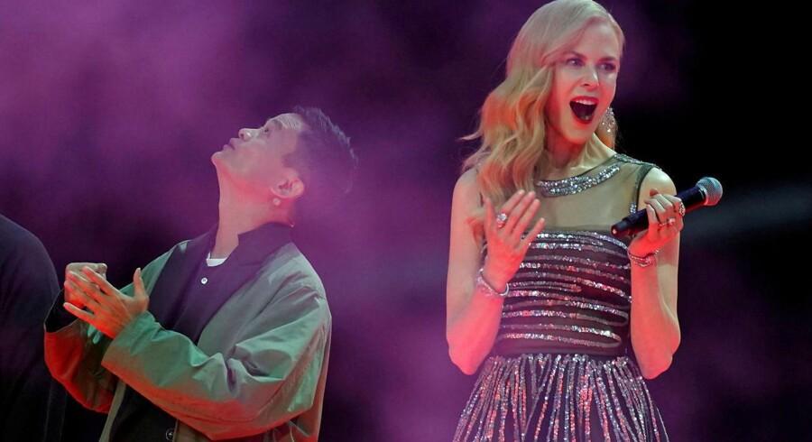 Jack Ma, stifter af Alibaba, deltod i et optaktsshow til Single' Day sammen med den australske skuespillerinde Nicole Kidman
