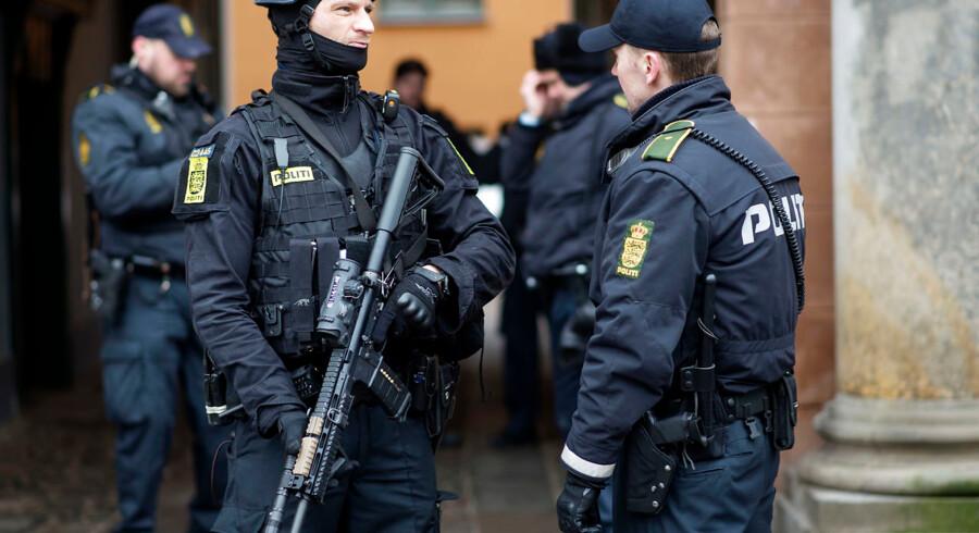 ARKIVFOTO. 10. marts 2016 Retsmøde i københavns byret vedrørende terrorsagen fra Krudttønden.