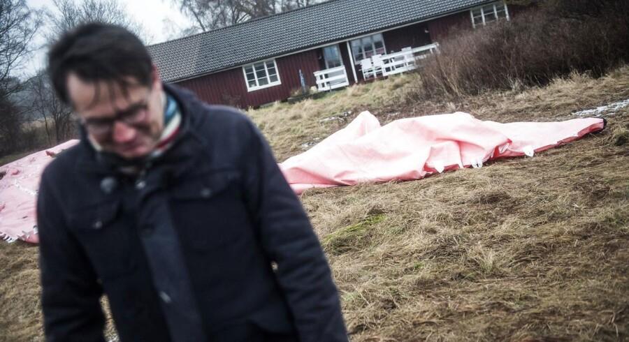 Erhvervsminister Brian Mikkelsen (K) lancerede i weekenden en ny prisportal for boliglån. (Foto: Ólafur Steinar Gestsson/Scanpix 2017)