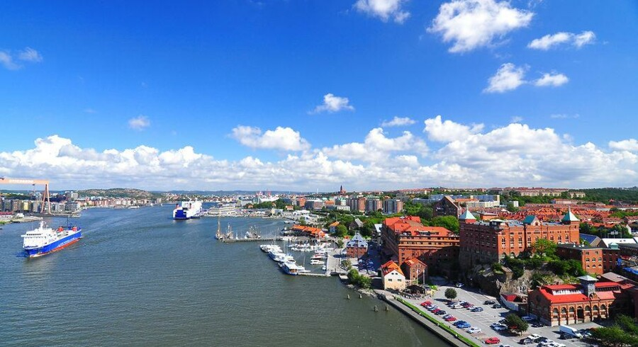 Telegiganten Telia deltog angiveligt i en aftale med sin nærmeste konkurrent om et større udbud i Göteborg på den svenske vestkyst. Arkivfoto: Iris/Scanpix
