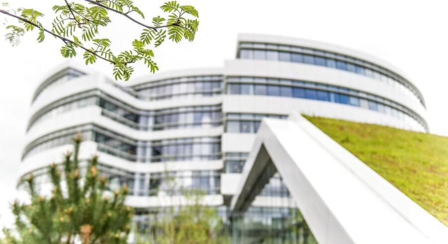 Arkivfoto: Novo Nordisks hovedkvarter i Bagsværd.
