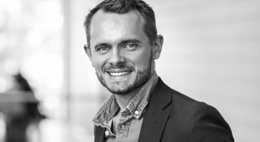 Gustav Berghog bliver Telias nye privatkundedirektør i Danmark. Foto: Telia