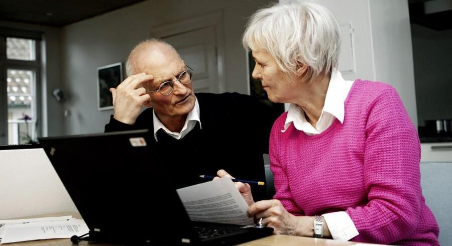 Ralf Pittelkow og Karen Jespersen, der står bag Den Korte Avis. Arkivfoto: Scanpix