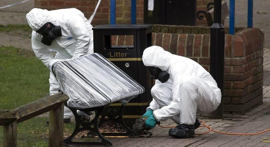 Tidligere på måneden blev Julia og hendes far, Sergej Skripal, fundet livløse på en bænk i Salisbury i Storbritannien.