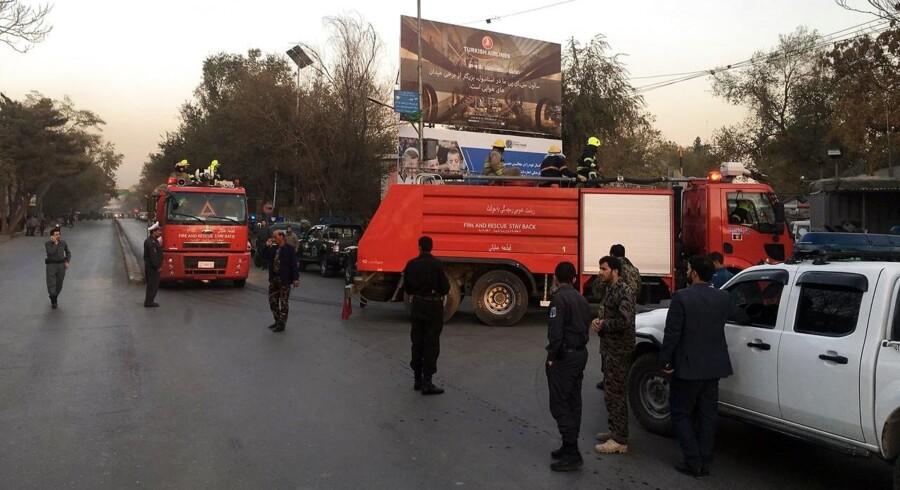 Kabul er blevet rystet af en række blodige angreb i denne måned. Over 50 blev for nylig dræbt i moské.