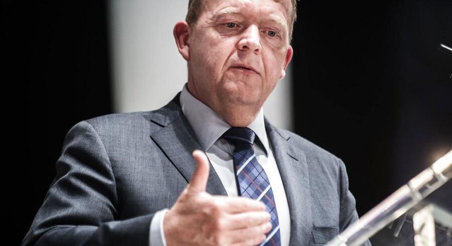 Arkivfoto: Statsminister Lars Løkke Rasmussen.