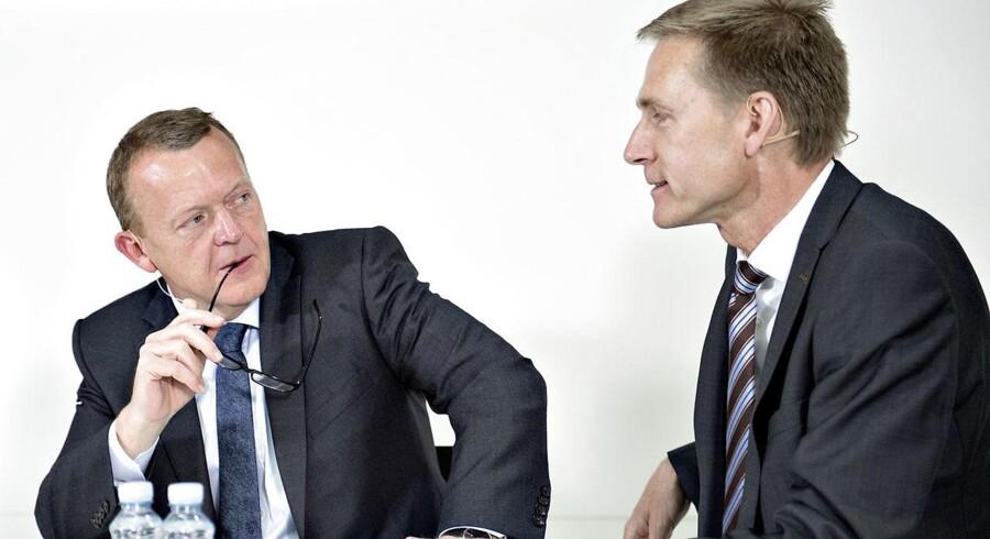 DF og Regeringen er »historisk tæt« på skattelettelser for milliarder, siger Joachim B. Olsen.