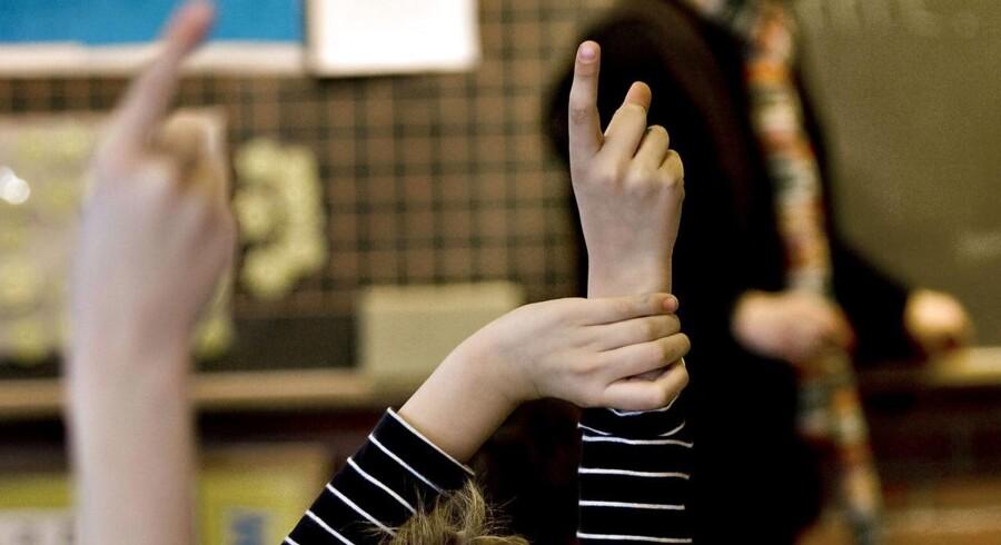 Arkivfoto. Der er bekymring over både undervisningen og økonomien på et muslimsk gymnasium og en friskole, der har forbindelse til en islamistisk bevægelse. (Foto: Steffen Ortmann/Scanpix 2017)