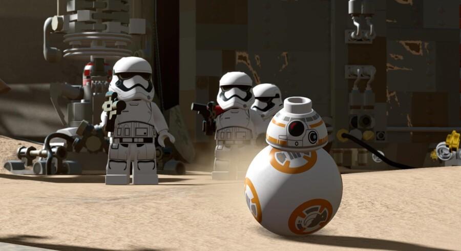 Det charmerende »Lego Star Wars: The Force Awakens« har høj nuttet- og morskabsfaktor. Men det egner sig bedst til yngre spillere.