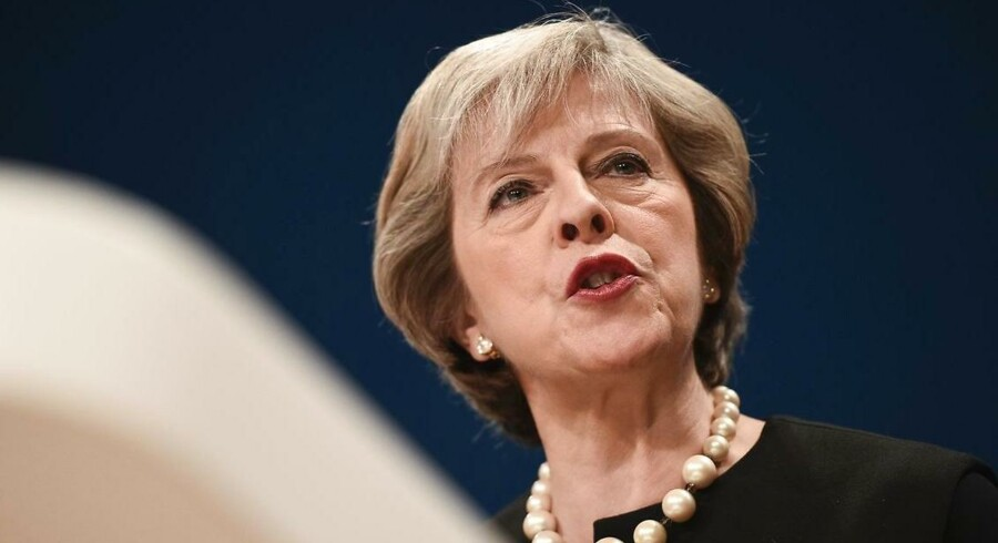Storbritanniens premierminister Theresa May