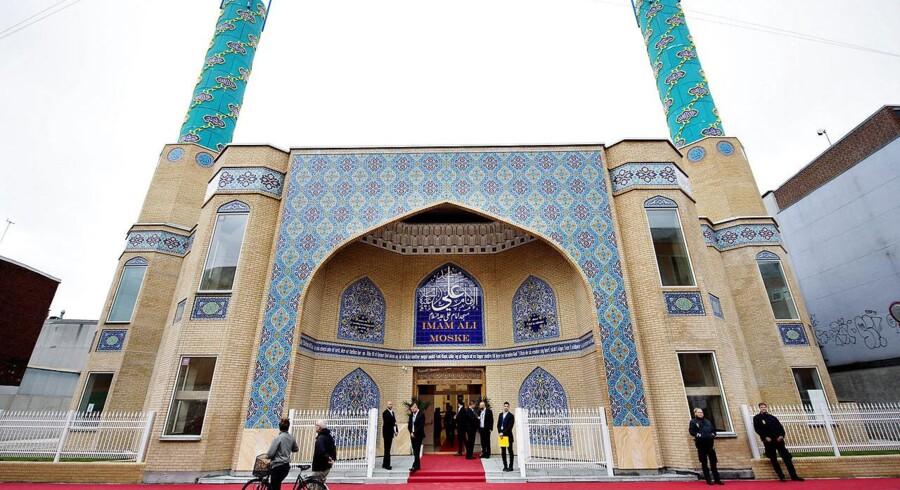 Byggeriet af en ny 2100 kvadratmeter stor shiamuslimsk moské - Imam Ali Moske - i Nordvest blev indviet torsdag i 2015.