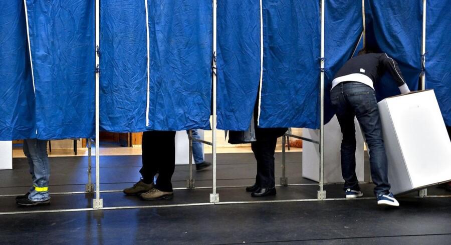 ARKIVFOTO: Et rekordhøjt antal EU-borgere kan stemme ved kommunalvalget. Men mange benytter sig ikke af muligheden for at stemme.
