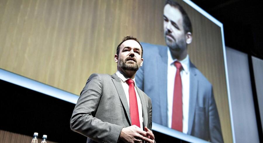 Jacob Bundsgaard (S) bærer to kasketter. Han er ny formand for KL og skal varetage arbejdsgivernes interesser, samtidig er han medlem af Socialdemokratiet - partiet der historisk har skullet varetage arbejdernes. Arkivfoto.