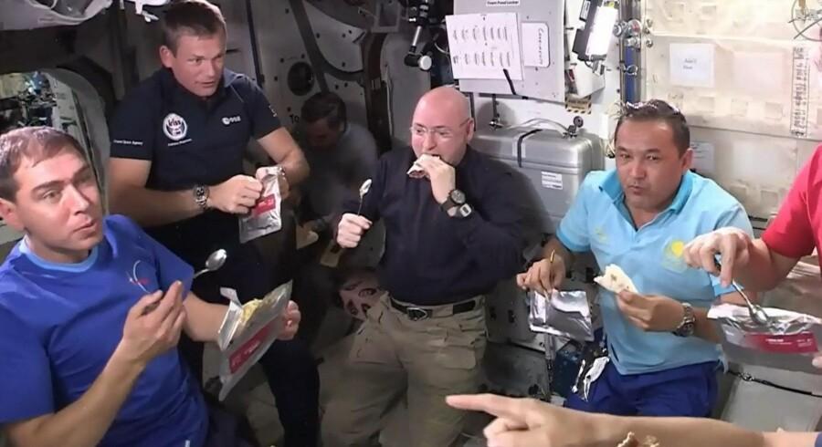 Astronauter på Den Internationale Rumstation (ISS) skal på en ekstraordinær rumvandring for at erstatte en vital computer, der er brændt sammen. (arkivfoto) Free/Nasa