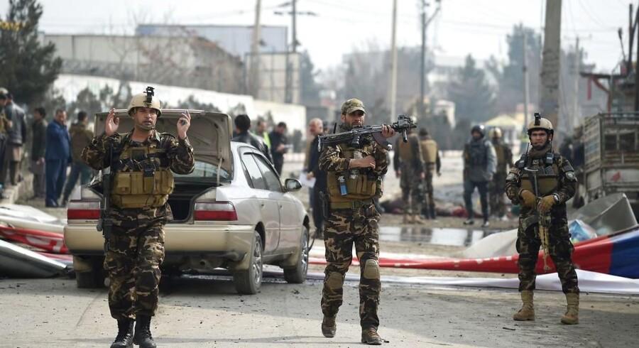 Eksplosionen fandt sted i den østlige del af Kabul, hvor mange ambassader er placeret.