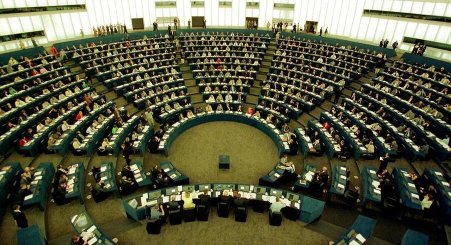Parlamentet i Strasbourg. Erik Luntang/NORDFOTO