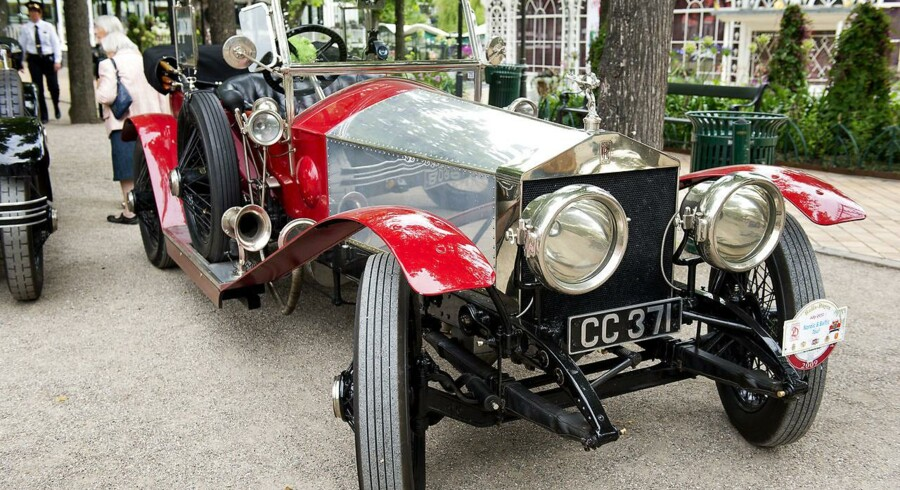 Rolls-Royce aktien stiger knap 15 pct. til 841,50 pence. Arkivfoto.
