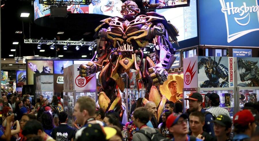 Arkivfoto. En af verdens største legetøjsproducenter Hasbro havde et forrygende andet kvartal med stor vækst i salget.