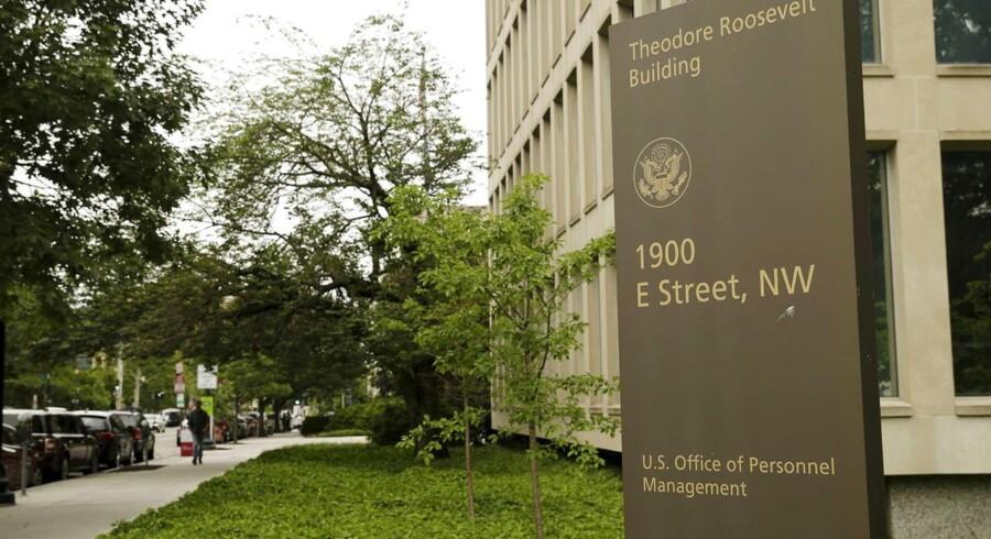 Her i Office of Personnel Management i Washington har hackere senest været på besøg og haft adgang til oplysninger om fire millioner nuværende og tidligere ansatte. Foto: Gary Cameron, Reuters/Scanpix