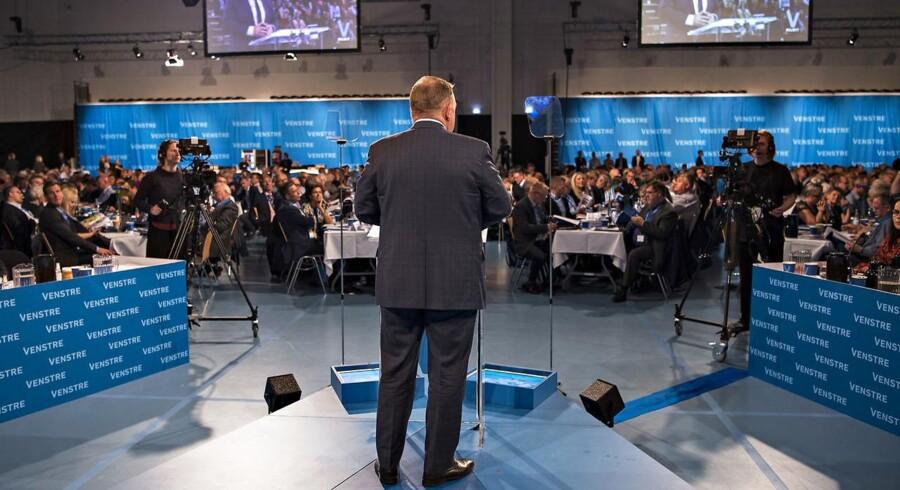 07.10.2017 - Venstre Landsmøde 2017 Vejle - Statminister Lars Løkke taler.