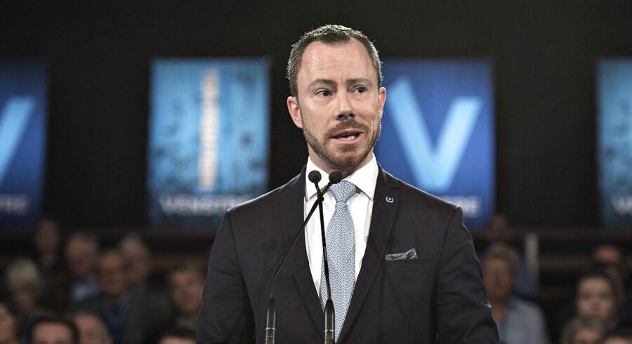 Politisk ordfører Jakob Ellemann-Jensen (V) er fortrøstningsfuld, selvom Venstre er faldet i meningsmålingerne siden valget i 2015 - for de er i det mindste ikke faldet så meget, som Socialdemokratiet gjorde det i deres første to regeringsår.