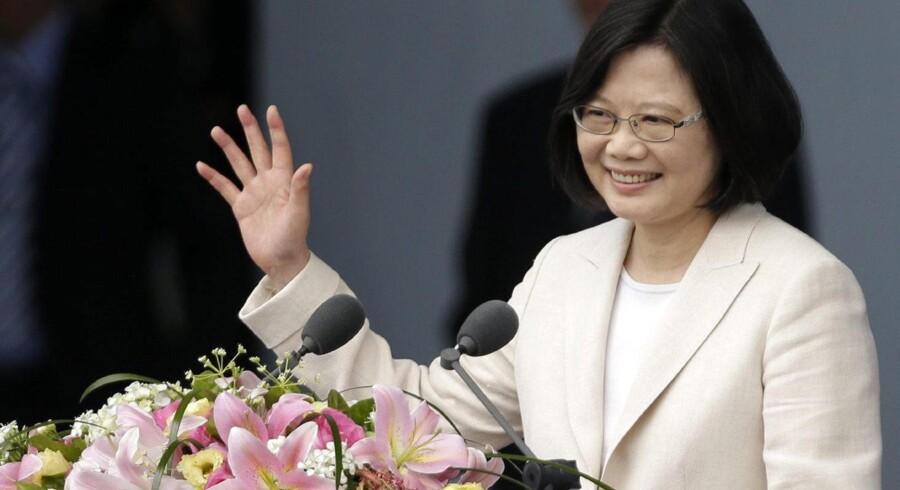 Taiwans præsident, Tsai Ing-wen. Foto: EPA