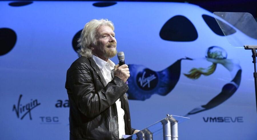 Richard Branson er grundlægger af Virgin Group, som også ejer andele i fitnesscentre, hoteller og teleselskaber rundt om i verden.