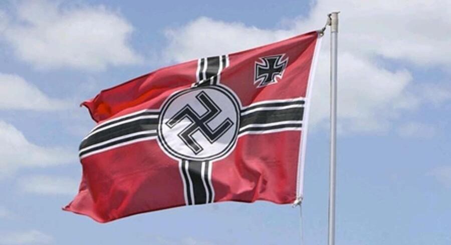 I et hus i Argentina har politiet fundet den angiveligt største samling af genstande fra Det Tredje Rige i Argentinas historie. Her ses et nazistisk hagekors. Free/Www.colourbox.com/arkivfoto