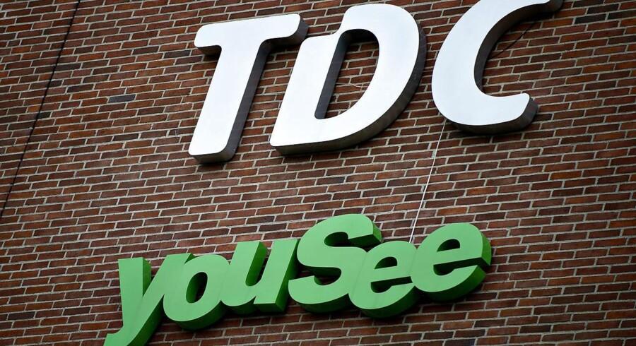 1. juli overtager TDCs kabel-TV-selskab YouSee alle TDCs privatkunder. Derfor bliver TDC-butikker landet over nu til YouSee-butikker. Den første åbner i Aarhus 2. marts. Arkivfoto: Torkil Adsersen, Scanpix