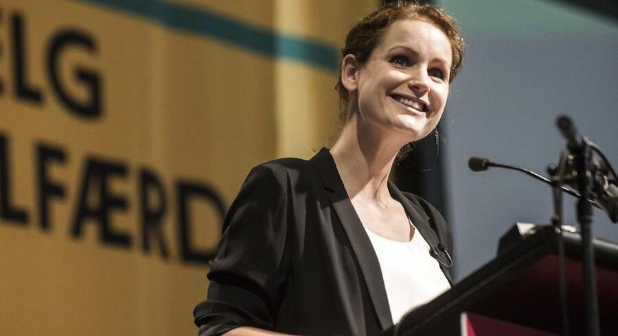 Pernille Skipper, politisk ordfører for Enhedslisten, går på barsel til efteråret. (Foto: Ida Marie Odgaard/Scanpix 2017)