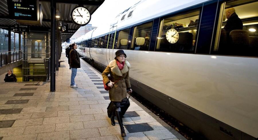 »Det har stor påvirkning på folks liv, at den kollektive trafik ikke fungerer. Vi kører i gamle tog, servicen er dårlig, og det er alt for dyrt.«