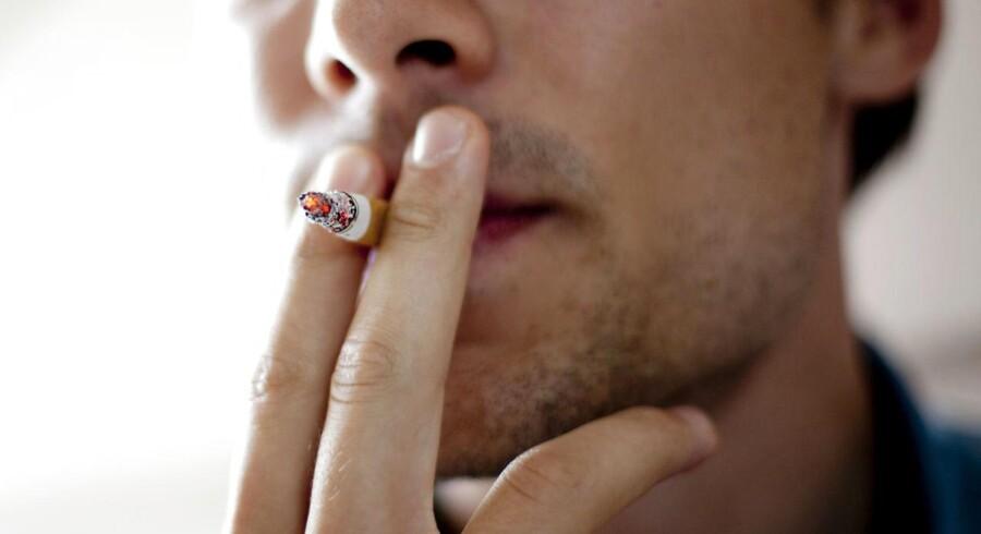 Arkivfoto. 22 procent af danskerne ryger, viser ny undersøgelse fra Kræftens Bekæmpelse.