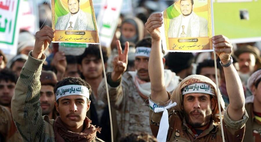 Den magtfulde Houthi-milits, der repræsenterer Yemens shiamuslimske mindretal, har mange støtter i det fattige arabiske land.