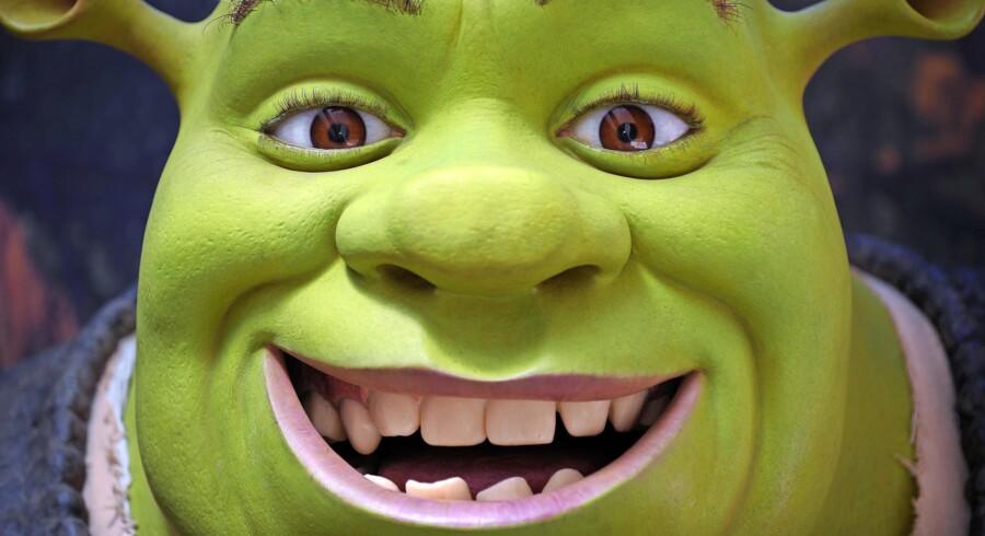 I efterårsferien kan du bl.a. opleve Shrek, the musical i Tivoli.